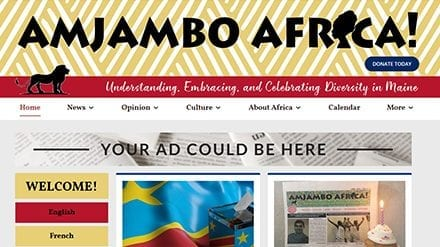 Amjambo Africa! Launches Website