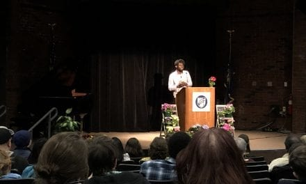 Poetry Out Loud Champion João Rodrigues Victor Performs at Terry Plunkett Maine Poetry Festival