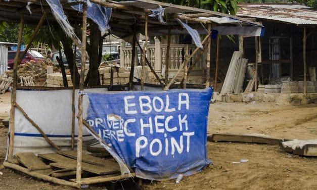 Epicenter of Ebola in DR Congo South of Beni