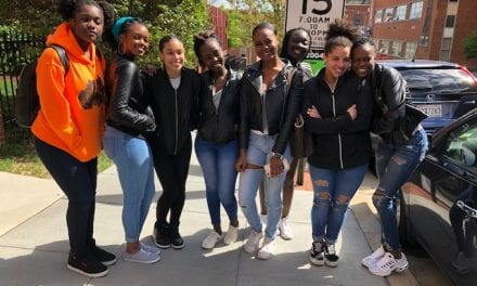 Portland High School Students Explore Colleges