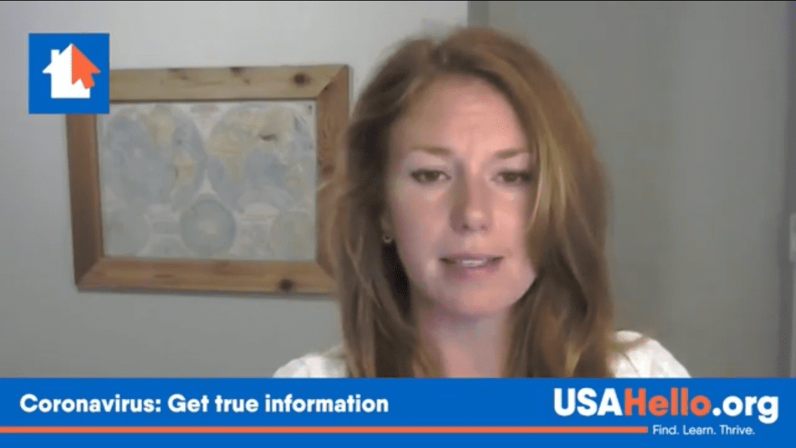 USAHello video helps dispel myths about Covid-19