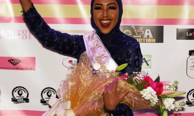 Zehra Abukar brings home a win from Miss Muslimah USA 2020 contest!