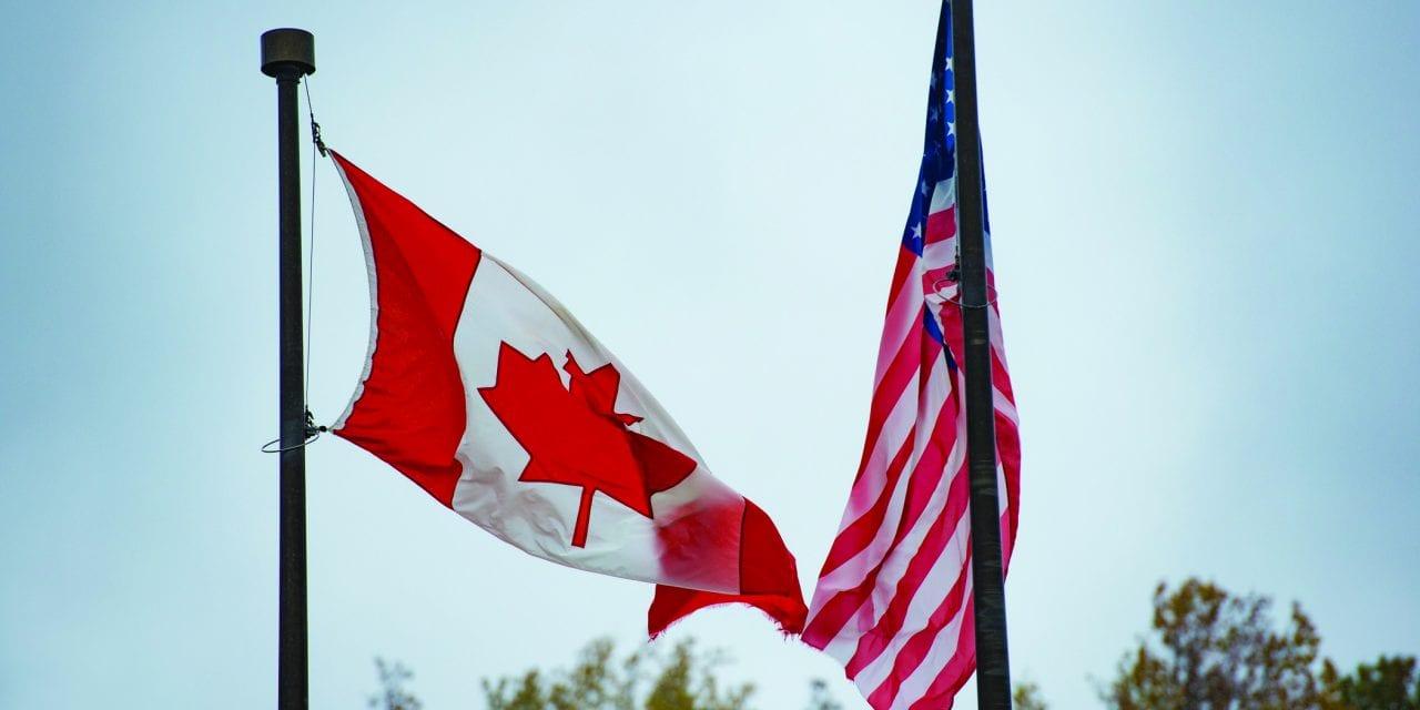 Fermeture de la frontière canadienne