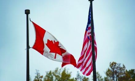 Xadka Kanada wuu xiran yahay