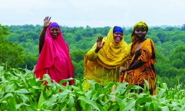 African farmers in Maine means farmers' markets