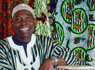 Promoting and spreading the music and food of West Africa: Messan Jordan Benissan