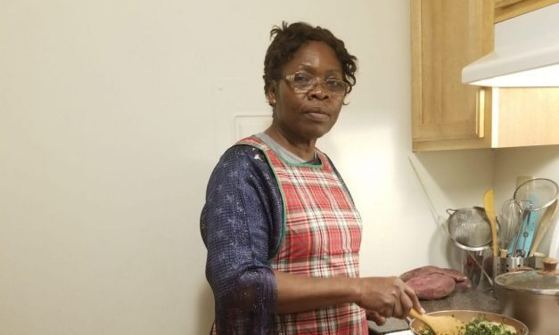 Healthy cooking with Yvonne Elinga