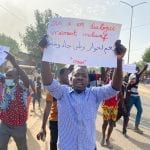 Chad: A demonstration repressed by the military left about 10 people dead.