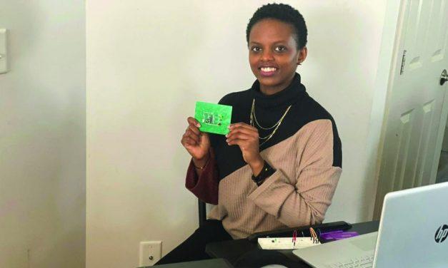 Gisele Mukundwa encourages perseverance